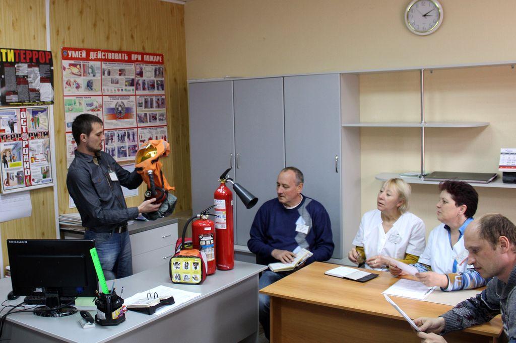 Первичный противопожарный инструктаж на рабочем месте