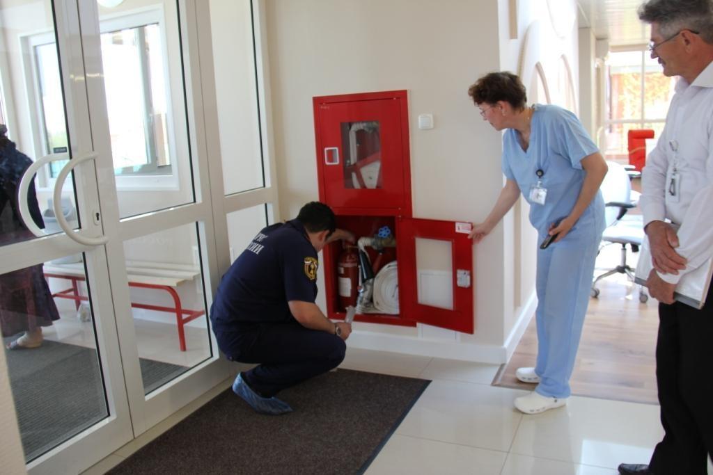 Пожарно-технический минимум в больнице