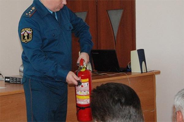 Повышение квалификации: пожарно-технический минимум